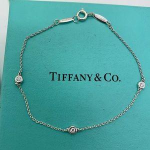 Tiffany & Co.925 Diamonds By The Yard Bracele 7.25